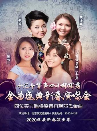 2020北展新春演出季:十亿个掌声——四小邓丽君-金曲盛典新春演唱会